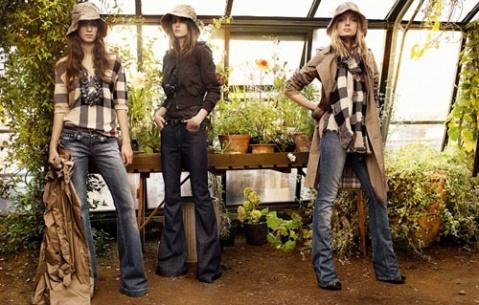 Burberry2009年春夏系列大片广告拍摄现场 - lili - 真实存在的