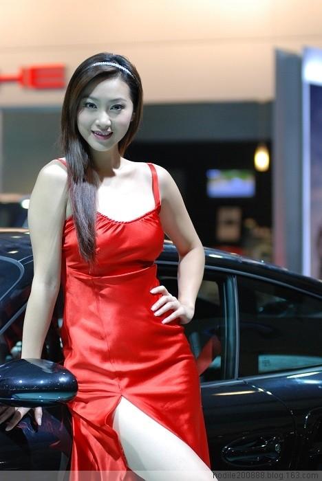 红衣车模 - gh9144 - 好事多磨的博客