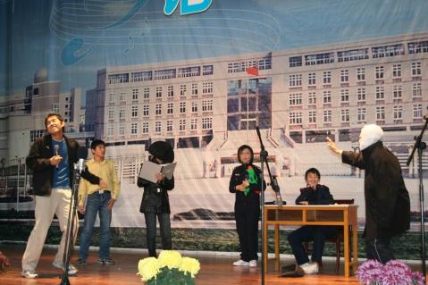 图说第四届平湖中学语文节 - 蕉风桂雨 - 邓中肯 blog