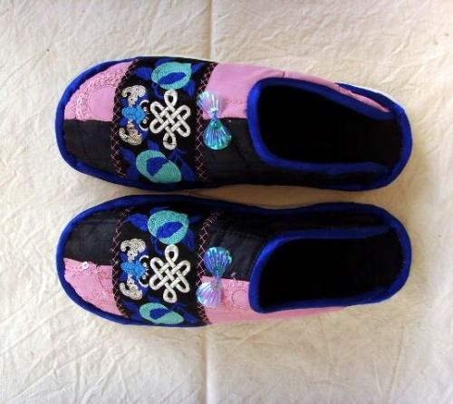 自制布托鞋 - 蓝莓之夜 - 蓝莓之夜