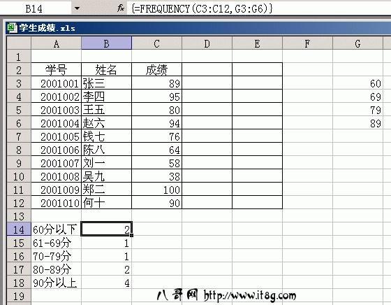 巧用Excel轻松管理学生成绩(2)