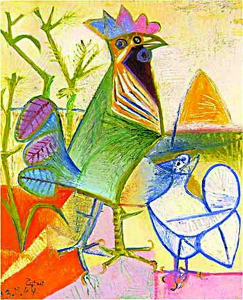 毕加索名画高清图片