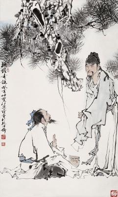 [搜集整理] 《范增中国人物画精品系列》续二(59幅) - 陈迅工 - 杂家文苑
