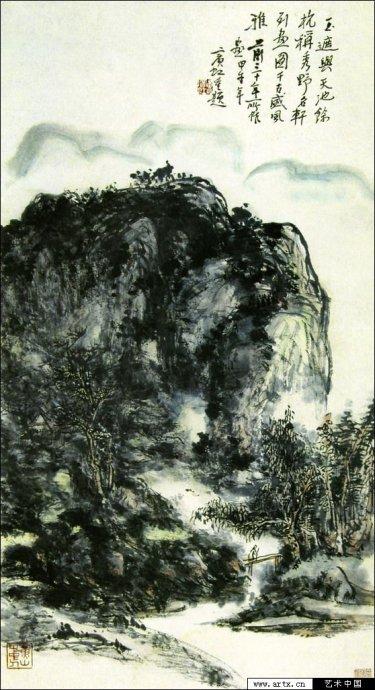 黄宾虹的鈥溛灞势吣澐