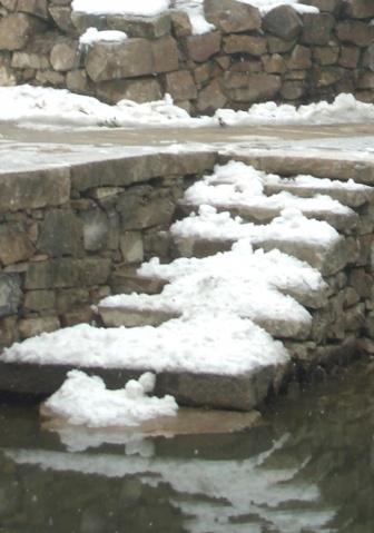 明月湾的雪景 - qinweiping1956 - 吴中山人家