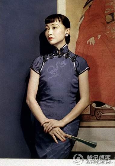 被宋美龄封杀的女明星  - 紫羅蘭 - .