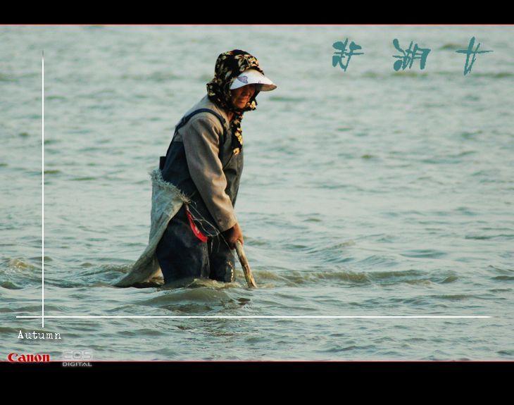 赶湖女【大漠摄影】 - 大漠独行 - 大漠深处camel的博客