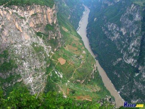 古路村:绝壁上的天梯人家