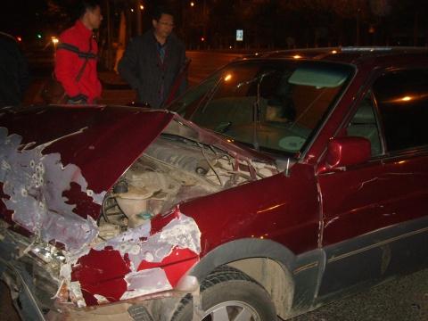我的黑色星期三:昨夜遭遇车祸今晨惊魂未定 - 后皇嘉树 - 后皇嘉树