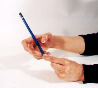关于正确的握笔姿势(图文对照) - 啪啪响 - 啪啪响的博客