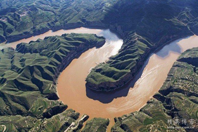 黄河奇观------九曲十八弯 - 东岳 - dongyue195 的博客
