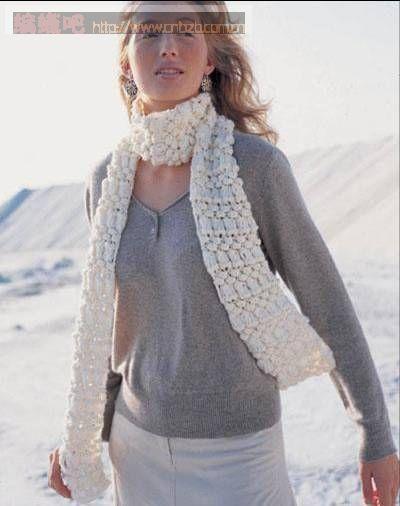 漂亮的围巾(有图解) - wl961121 - 人生淡如菊的博客