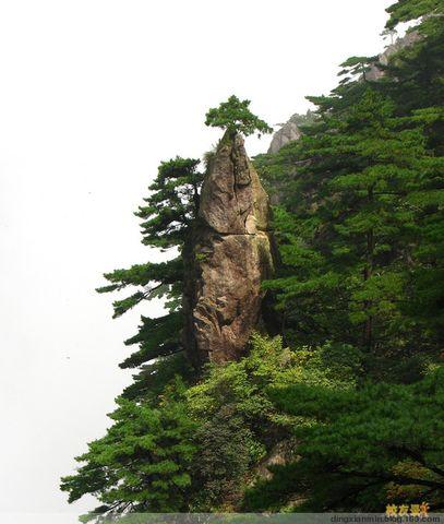 黄山的民间传说故事之梦笔生花 - dingxianmin - dingxianmin的博客