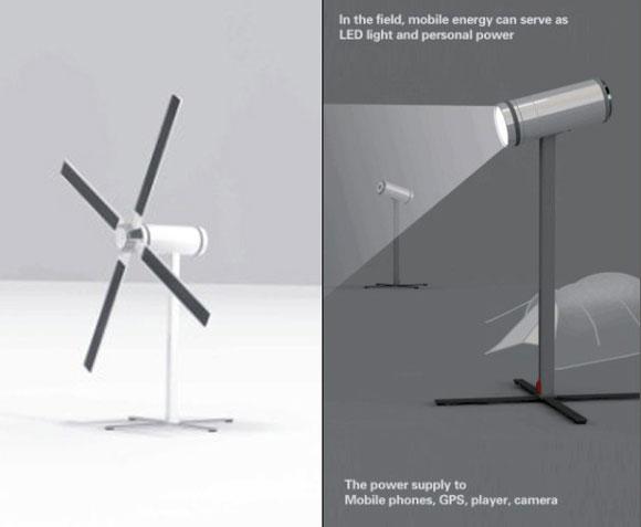 户外概念发电小工具