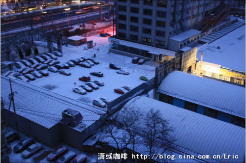 2009年北京第一场雪(组图) - 潇彧 - 潇彧咖啡-幸福咖啡
