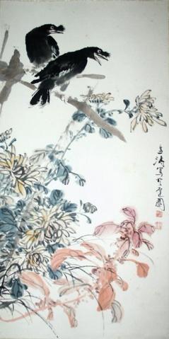 引用 花鸟国画大师(王雪涛) - 画家阿立 - 桑岭山人