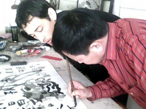 我的美国学生 - 關中醉人 - 关中醉人花鸟画