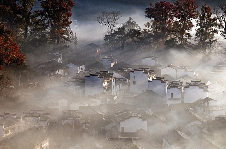 【原创】雾漫石城 - 歪树 - 歪树