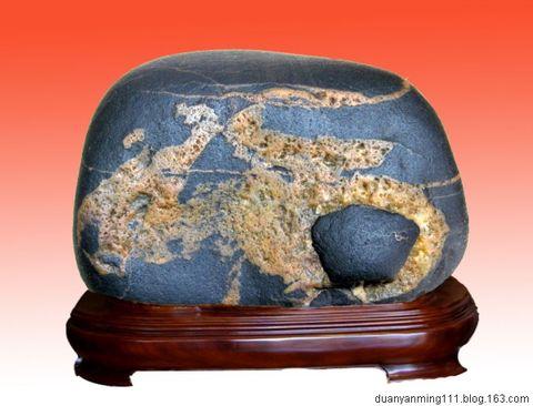 江华奇石介绍(一)-----金纹石 - 一鸣 - 一鸣藏石