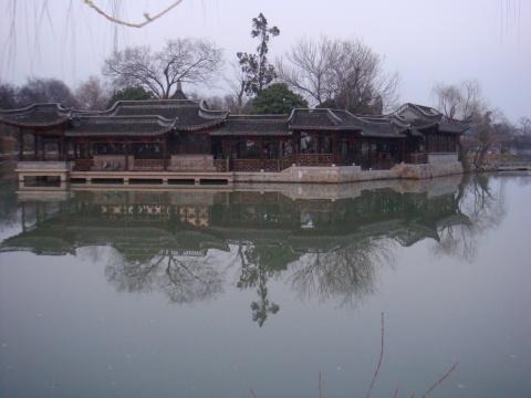 正月走扬州之三:清瘦秀丽的瘦西湖 - 赵小波 - 赵小波的博客
