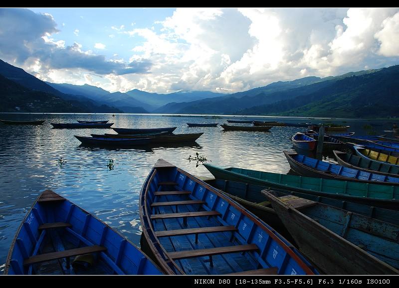 雪山 湖泊 寺庙___尼泊尔之旅(四) - 西樱 - 走马观景