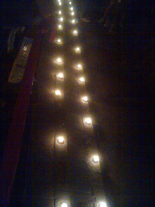 蠟燭祈禱擺放設計圖展示