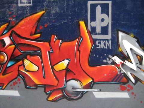 crash~crach!武汉大撞车!!! - RAY~武汉涂鸦 - RAYS GRAFFITI 武汉*涂鸦