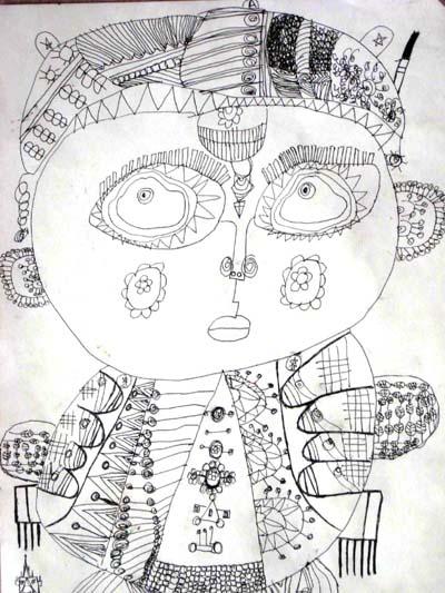 幼儿园小朋友作品 - 彤馨童画 - 彤馨·童画的博客