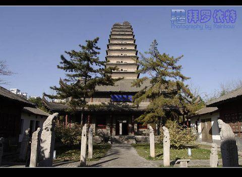 西安城区寺庙探寻(一)—— 荐福寺 - 拜罗依特 - 拜罗依特の废墟