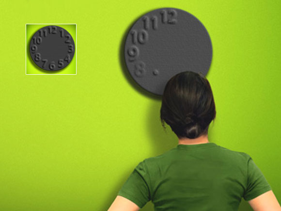 可看出时间流动的概念时钟