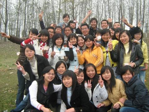 我们的纪念——07电商二班 - 敏子 - 徐敏的电子商务博客