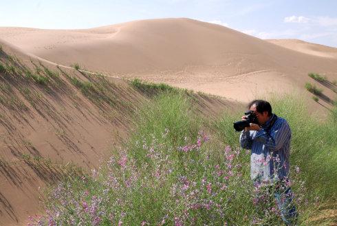 重访恩格贝(3):沙漠大峡谷 - 刘兵 - 刘兵的博客