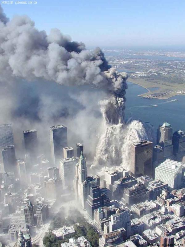 美国空军拍摄的9.11悲壮照片(绝版) - qing.guohua - qing.guohua的博客