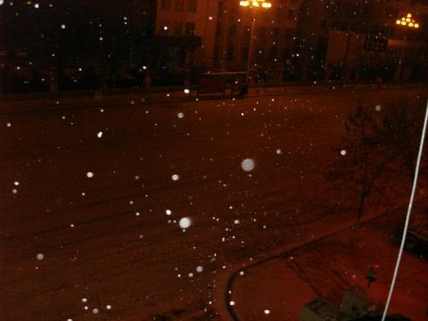 下雪了…… - 独坐黄昏听雨声 - dzhhtys的博客