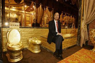 6吨黄金建材打造的瑞士号黄金皇宫