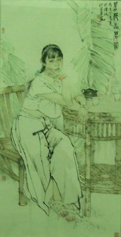 美女中国画欣尝 - 心已开的日志 - 网易博客