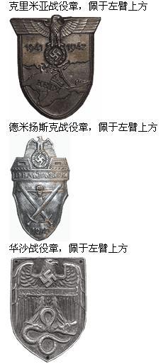 二战德军标志大全 德军军章大全