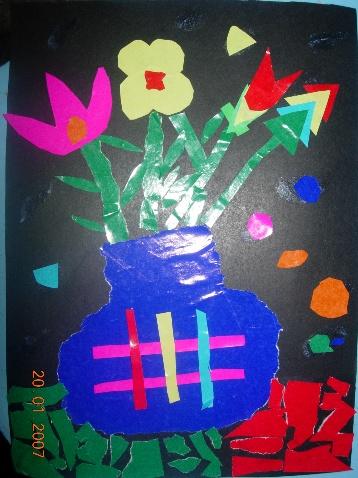 幼兒剪貼畫作品