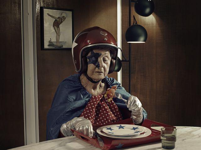 """""""超人外婆""""的英雄梦,传递活着的快乐(组图) - 刻薄嘴 - 刻薄嘴的网易博客:看世界"""