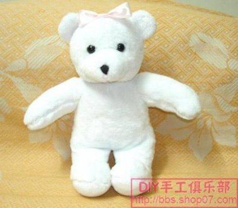 一步一步教您做泰迪熊鈥斺斖旯