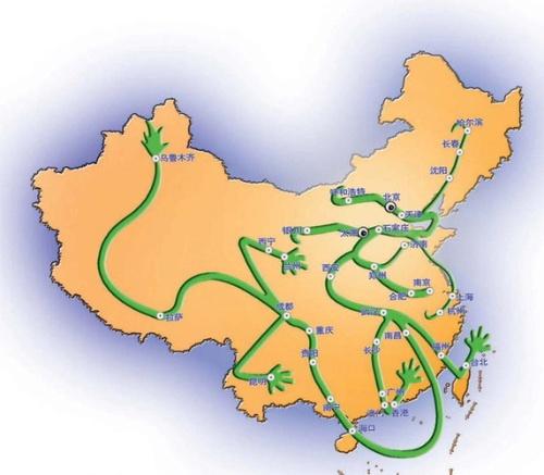 惊奇:中国地图暗藏如此玄机(组图)  - 笑看人生 - wuming402的博客