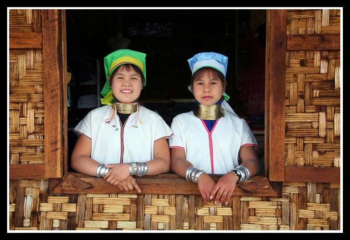 茵莱湖(3)——长颈族 - 人走茶凉 - 人走茶凉的博客