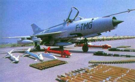 在歼-7pg飞机项目洽谈中