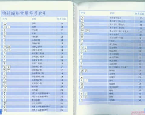 【转载】中英文及日文钩针术语对照 - 海蓝蓝 - 海蓝蓝欢迎您