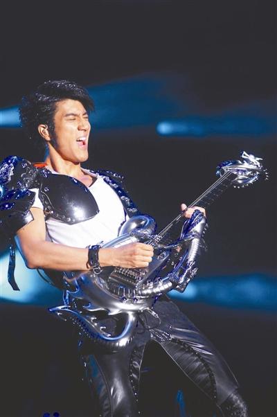 王力宏演唱会使用巨型LED - 音乐超人 - 音乐超人