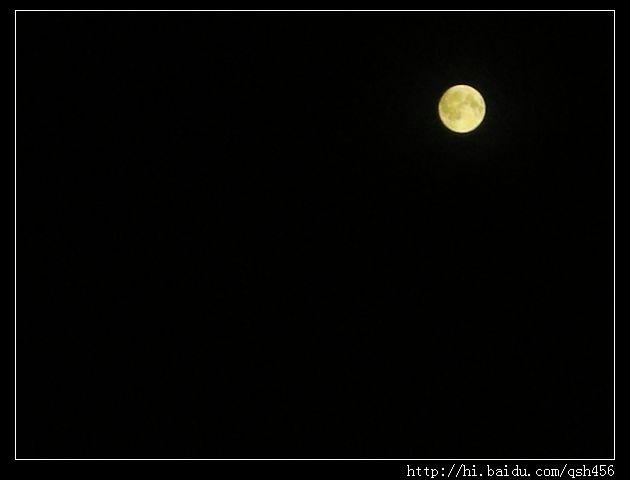 天上月亮圆又圆