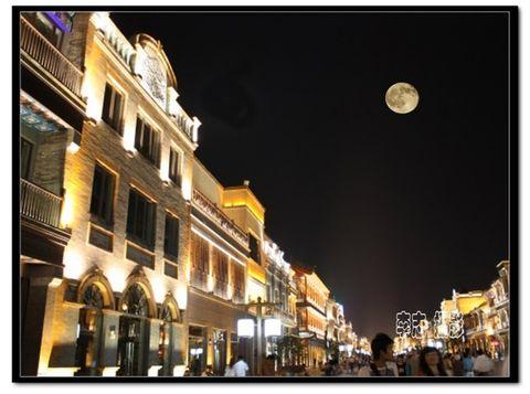 [原创摄影]  夜景前门大街 - 宽心 摄影 - 宽心---原创摄影