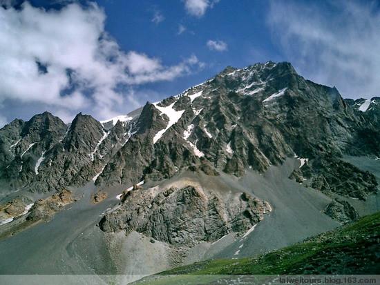 翻越天山乔尔玛峰 - 赖炜 - 赖炜的行迹   BLOG