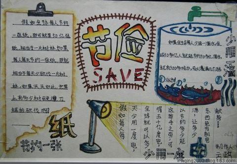分享(5): 雄霸校园的手抄报 - 蓝桑的画中话 - 画中话