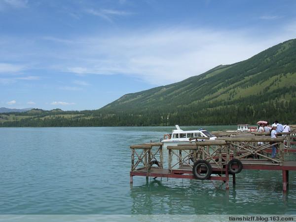 (原创)中国最美的五大湖之一--喀那斯湖 - 殇殇 - tianshizff的博客